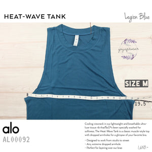 alo : Heat-Wave Tank (Legion Blue) (AL00092)