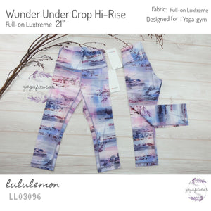 Lululemon - Wunder Under Crop Hi-Rise *Full-on Luxtreme (Sunrise silhouette Multi) (LL03096)