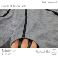 Lululemon - Course of Action Tank (Heathered Black) (LL03061)