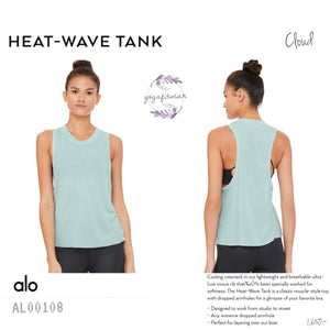 alo : Heat-Wave Tank (Cloud) (AL00108)