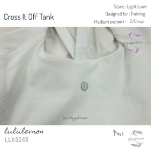 Lululemon - Cross It Off Tank (Mist) (LL03245)