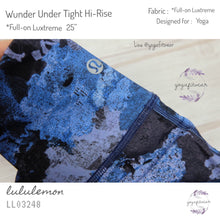 "Lululemon - Wunder Undet Tight Hi-rise *Full-on Luxtreme 25"" (Screen Camo Multi) (LL03248)"