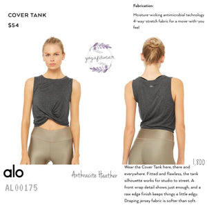 Alo - Cover Tank (Anthracite Heather) (AL00175)