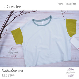 Lululemon - Cates Tee (Ocean Mist/ Golden Line/ Palm Court) (LL03304)