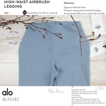 Alo - High-Waist Airbrush Legging (Blue Haze) (AL00182)