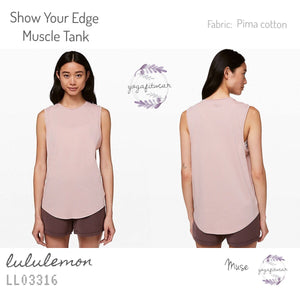 Lululemon - Show Your Edge Muscle Tank (Muse) (LL03316)