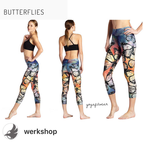 Werkshop Capri Length - Butterflies (WS00009)