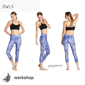 Werkshop Capri Length - Owls (WS00005)