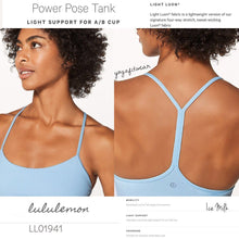 Lululemon - Power Pose Tank *Light Support for A/B Cup (Ice Milk) (LL01941)