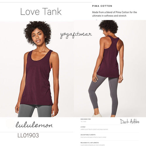 Lululemon - Love Tank (Dark Adobe) (LL01903)