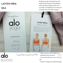Alo - Lavish Bra (Dusted Plum Grossy/Dusted Plum) (AL00221)