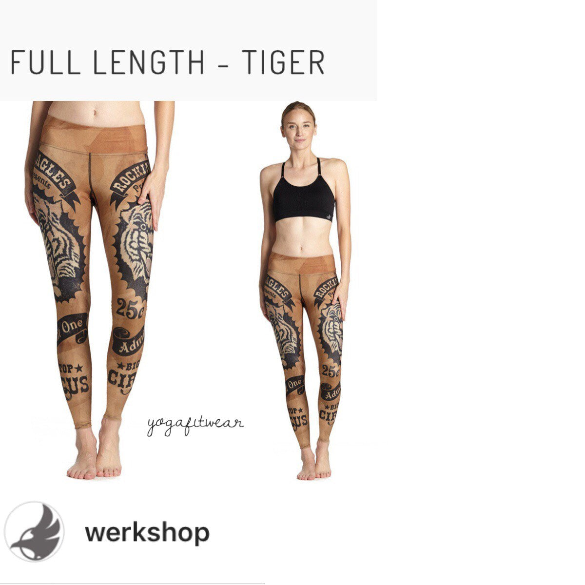 Werkshop Full Length - Tiger (WS00030)