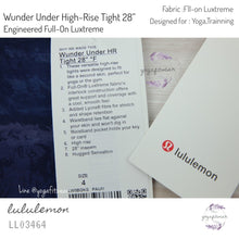 "Lululemon - Wunder Under High-Rise Tight 28"" Engineered Full-on Luxtreme (Panorama Wunder Under High Rise Tight) (LL03464)"