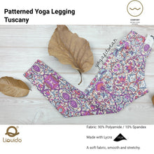 Liquido - Patterned Yoga Legging  :Tuscany (LQ00437)
