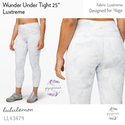 "Lululemon - Wunder Under Tight 25"" (Tropical Shadow Starlight Multi) (LL03479)"
