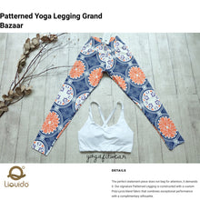Liquido - Patterned Yoga Legging  :Grand Bazaar (LQ00458)