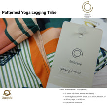 Liquido - Patterned Yoga Legging  :Tribe (LQ00513)