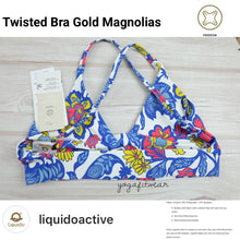 Liquido - Twisted Bra :Gold Magnolias (LQ00522)