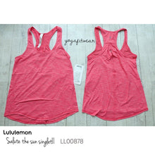 Lululemon - Salute the sun SingletII (Heathered Boom Juice) (LL00878)