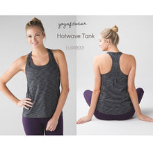 Lululemon - HotwaveTank (Heathered black) (LL00833)