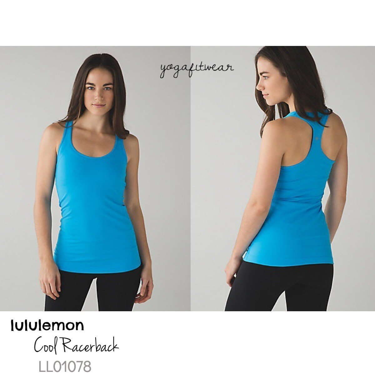 Lululemon - Cool Racerback (Kayak Blue) (LL01078)
