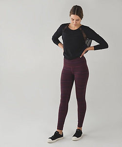 Lululemon - High Times Pant (Cyber red grape bordeaux) (LL00745)