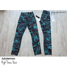 Lululemon - High Times Pant*Full-0n Luxtreme (palm Lace Tofino Teal Multi) (LL00795)