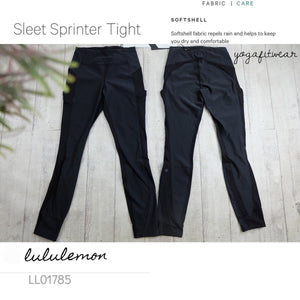 Lululemon - Sleet Sprint Tight (Black) (LL01785)