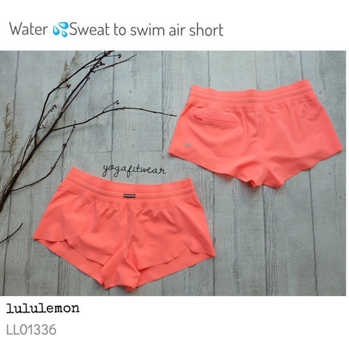 Lululemon - Water:Sweat to swim Air Short (GRPF) (LL01336)