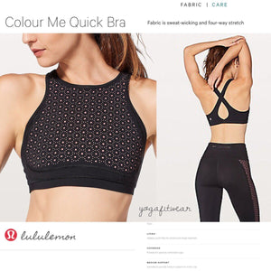 Lululemon - Black/Flash Light Tone (Black/Flash Light Tone) (LL02203)
