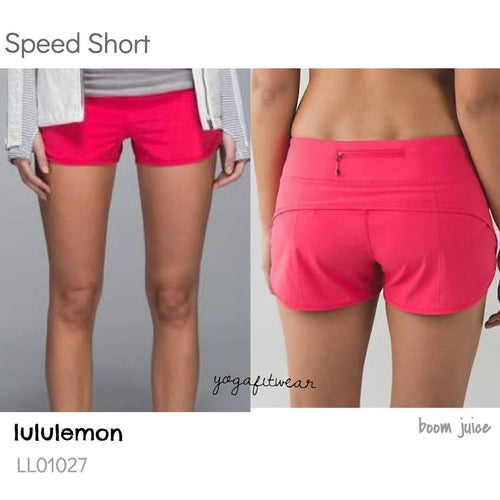 Lululemon - Speed Short (boom juice) (LL01027)