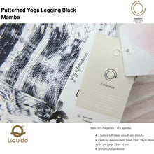 "Liquido - Pattern Yoga Legging ""Black Mamba"" (LQ00527)"