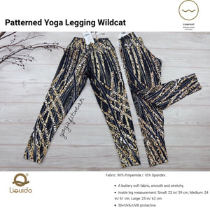 "Liquido - Pattern Yoga Legging ""Wildcat"" (LQ00529)"