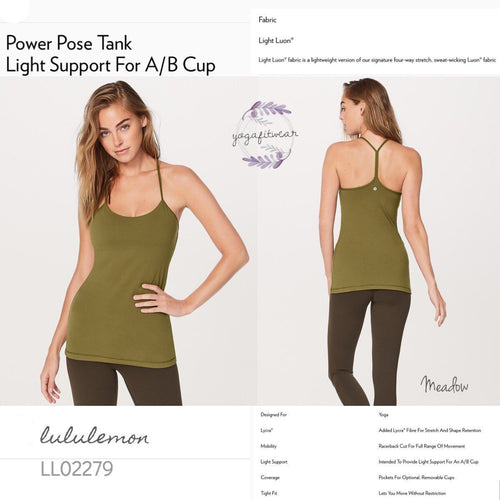 Lululemon - Power Pose Tank (Meadow) (LL02279)