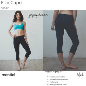 Montiel - Ellie Capri (black) (MT00062)