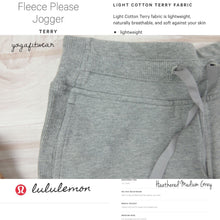 Lululemon - Fleece Please Jogger*Terry (Heathered Medium Grey) (LL01829)