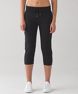 "Lululemon - Dance Studio CropII*Unlined20"" (black) (LL01258)"