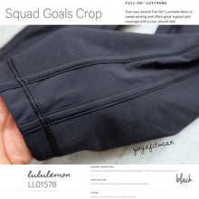 Lululemon - Squad Goals Crop (black) (LL01578)