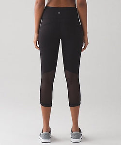 "Lululemon - Hit It Crop21"" (Black) (LL01412)"