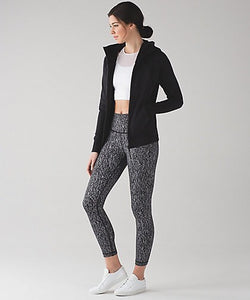 Lululemon - High Times Pant (Luon suited Jacquard Black white) (LL01703)
