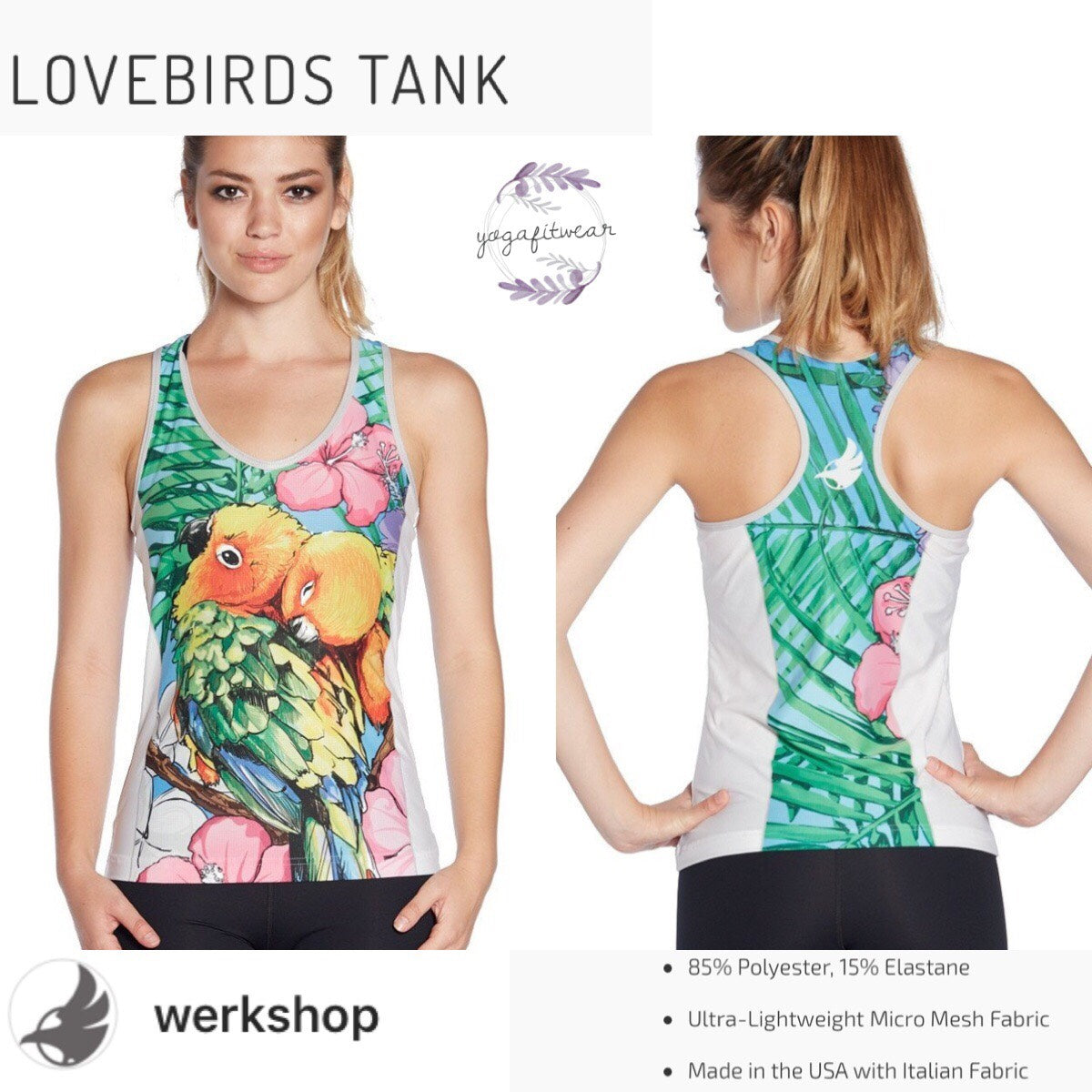Werkshop - Lovebirds Tank (WS00170)