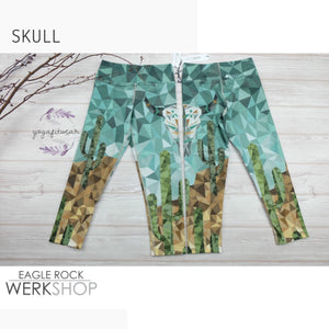 Werkshop Capri Length - Skull (WS00082)