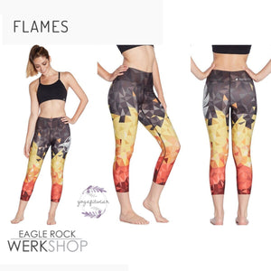 Werkshop Capri Length - Flames (WS00173)