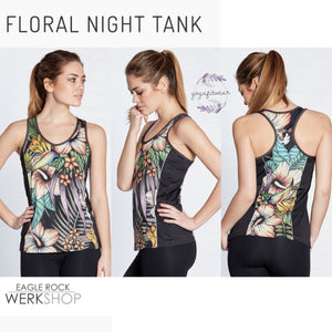 Werkshop  - Floral Night Tank (WS00174)