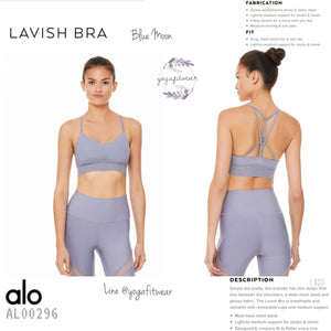 Alo : Lavish Bra (Blue Moon) (AL00296)