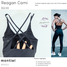 "Montiel - Reagan Cami"" (Black) (MT00113)"