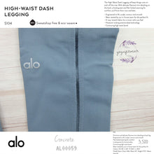 alo : High-Waist Dash Legging (Concrete) (AL00059)