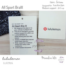 Lululemon - All Sport Bra III (Mineralize Multi) (LL02916)