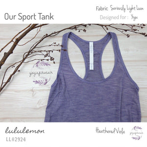 Lululemon - Our Sport Tank (Heathered Viola) (LL02924)