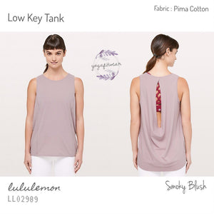 Lululemon - Low Key Tank (Smoky Blush) (LL02989)